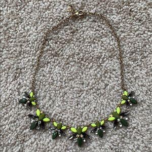 Loft jeweled necklace